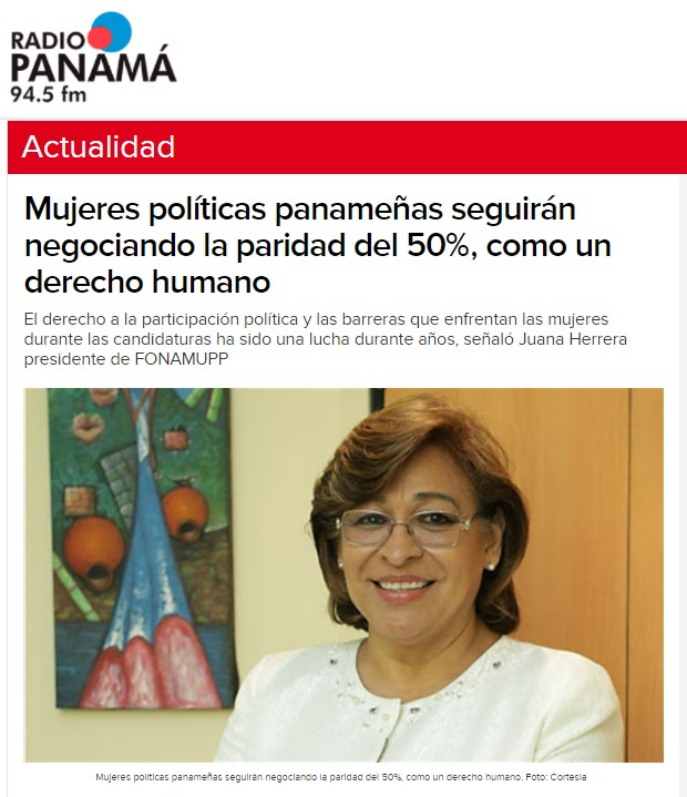 Noticia Radio Panamá