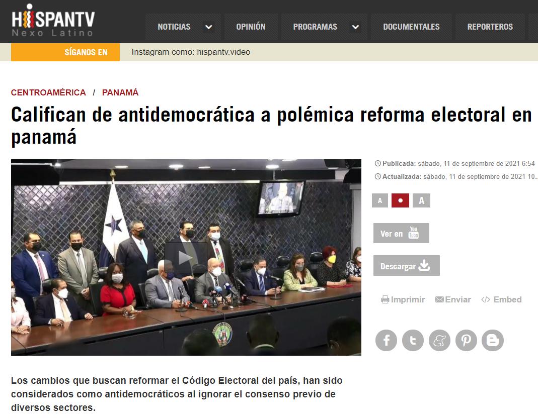 Noticia HispanTV 1