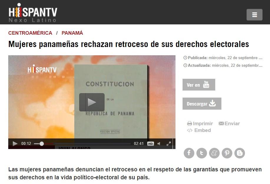 Noticia HispanTV 2