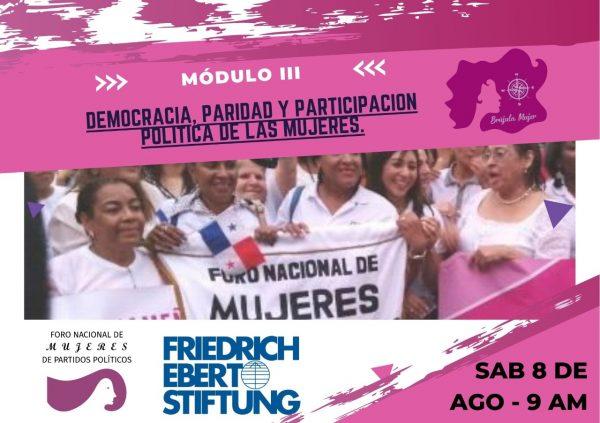 Democracia, paridad y participación política de las mujeres