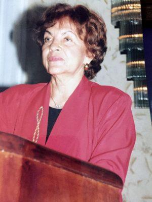 Catedrática Matilde Real de González