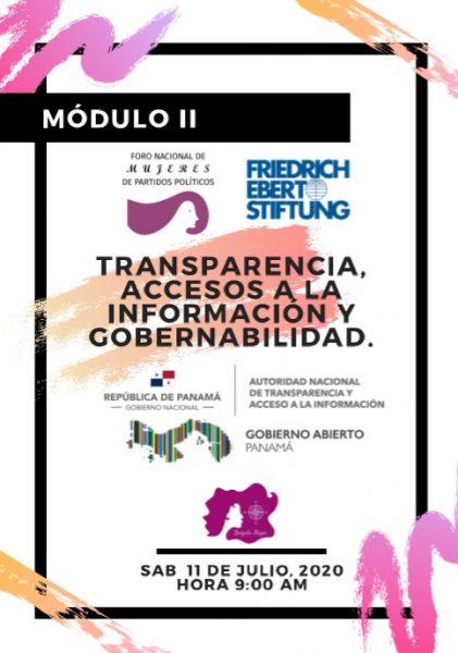 Transparencia, accesos a la información y gobernabilidad